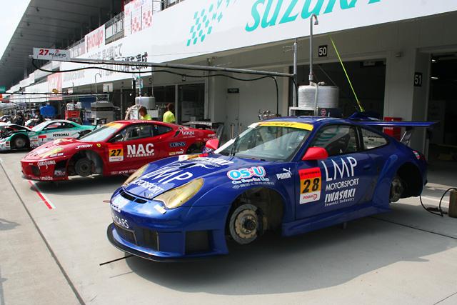イワサキインダストリー LMP Porsche、鈴鹿に登場