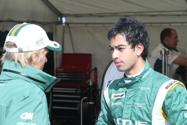 ロータス、F1史上最年少ドライバーを走らせる(2)