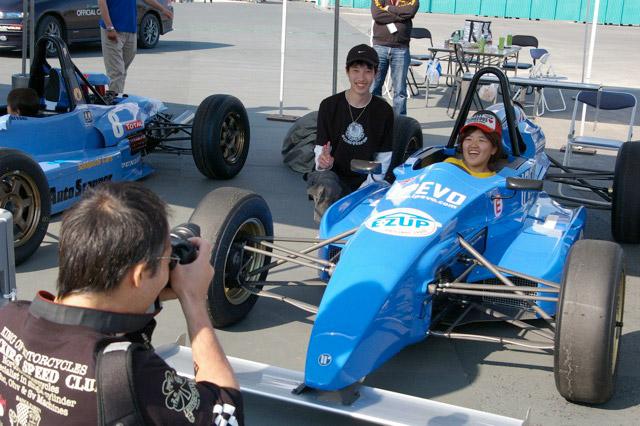 「鈴鹿モータースポーツ市民の会」が体験イベント実施(1)