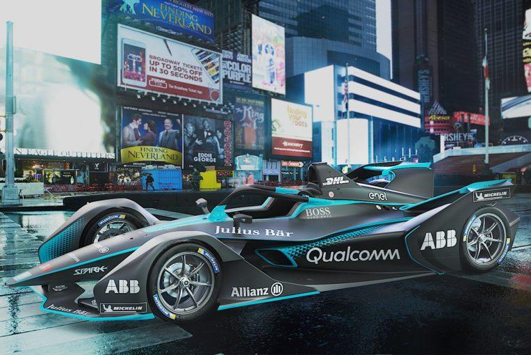 海外レース他 | すべてが一新された第2世代フォーミュラEマシンが公開。実車は3月にジュネーブでお披露目
