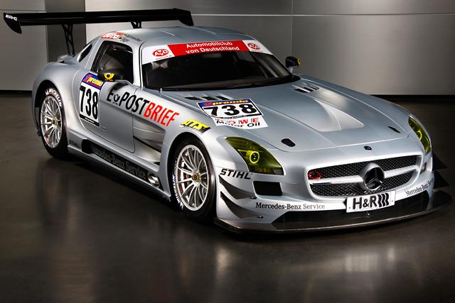 メルセデスSLS AMG GT3、VLNにデビュー(1)