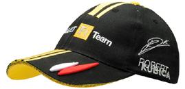 《AS-webグッズ情報》欧州限定グッズ! ルノーF1チーム ロバート・クビカキャップ(2)