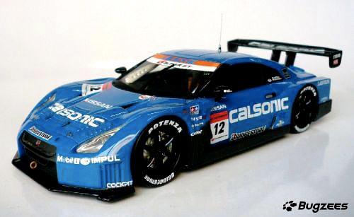 Bugzees1/32スケールモデルカー #12&#24 GT-R発売(1)