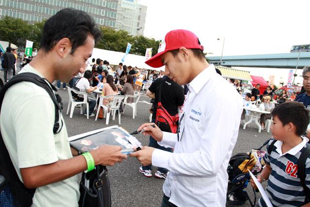 可夢偉、左近がMSJ2010で鈴鹿への決意表明(4)