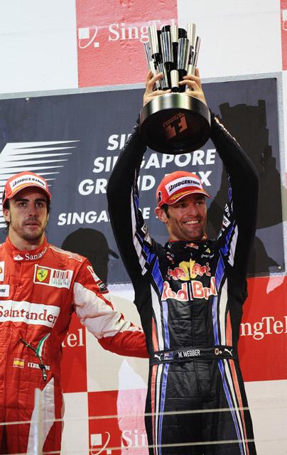 フェラーリが好調だが鈴鹿は僕らが強い とウエーバー(1)
