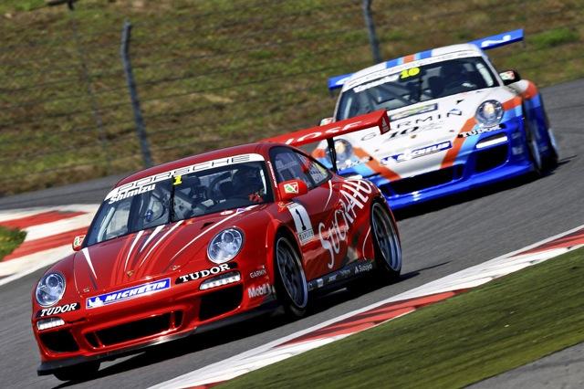 ポルシェカレラカップ、F1日本GPの併催として開催(1)