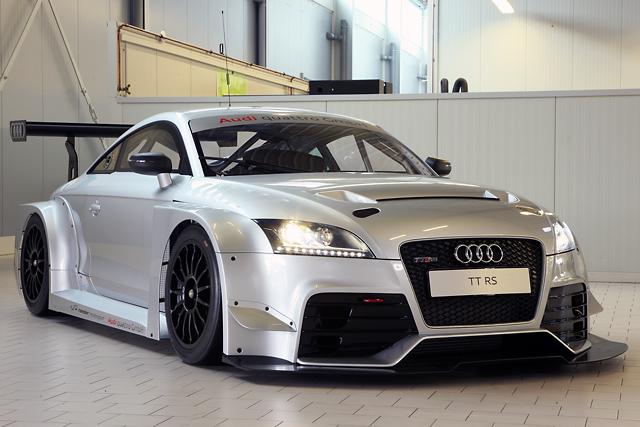 アウディ、TT RSベースのレーシングカーを開発(2)