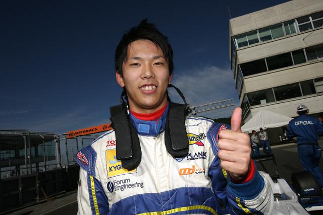 山内絶好調! 全日本F3第15・16戦でWポールを獲得(1)