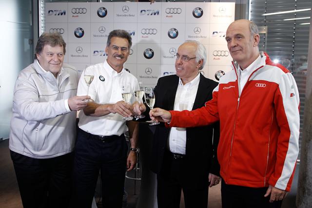 メルセデス&アウディ、BMWのDTM復帰を歓迎(1)