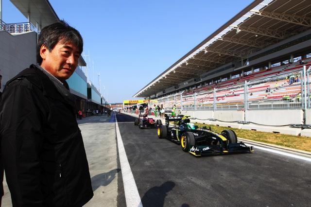 韓国GP開幕、予想を上回るタイムでハミルトンが最速(5)