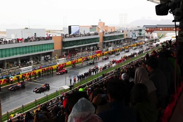 RBR全滅、波乱の韓国GPはアロンソが制す。可夢偉8位(1)
