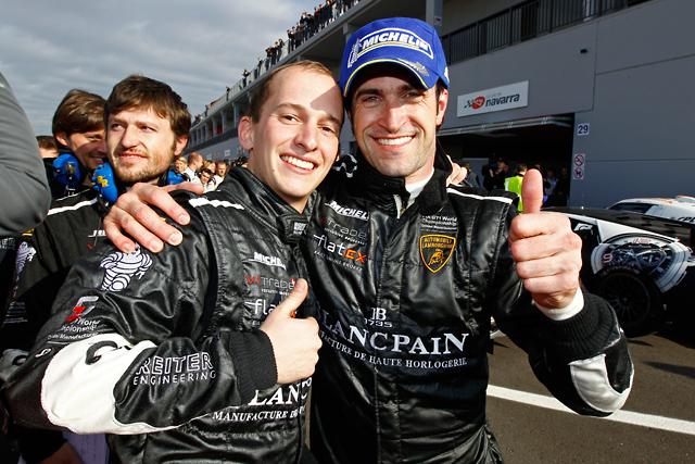 FIA GT1ナバーラ:ゾンタ組ランボルギーニが席巻(1)