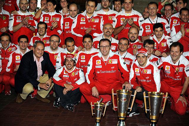「アロンソがウエーバーに勝つ」とブリアトーレ(1)