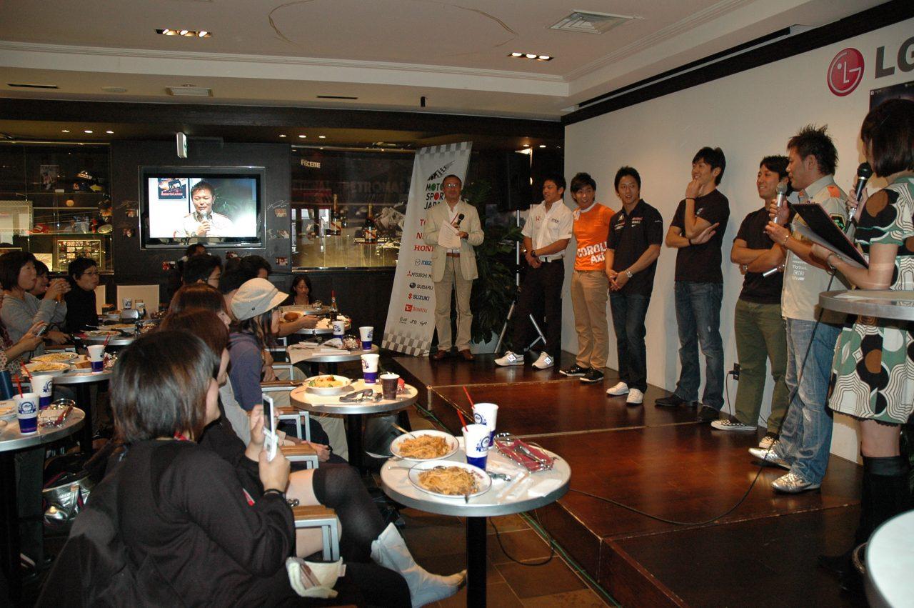 第2部は爆笑トーク満載『Motorsport Town Meeting第3回』(1)