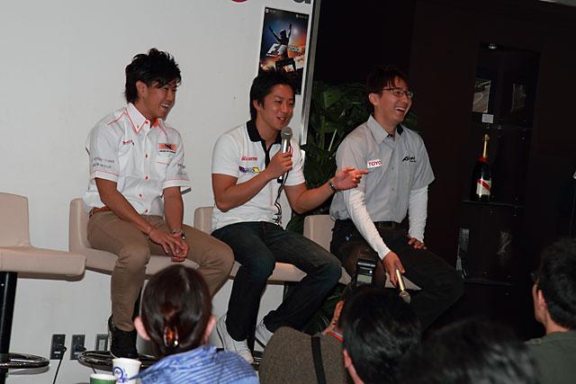 『Motorsport Town Meeting第3回』第1部ではFNドライバーがヤバイ話を披露(3)