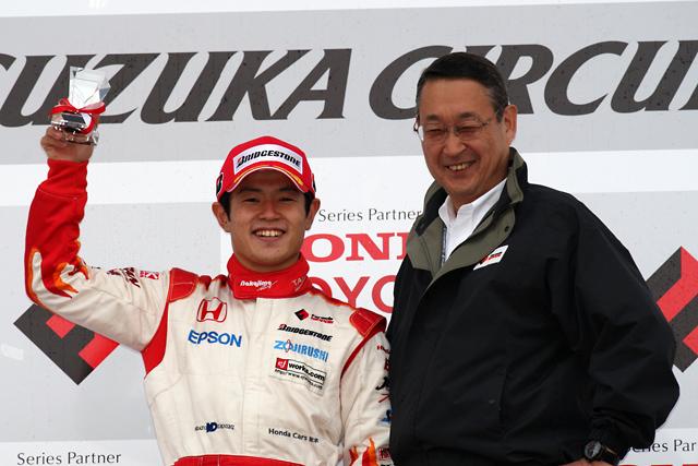 勝って決めた! 2010年Fニッポン王者はオリベイラが獲得(6)