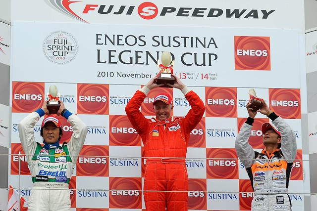 FUJI SPRINT CUP:レジェンドカップは白熱のバトルをリースが制す ...