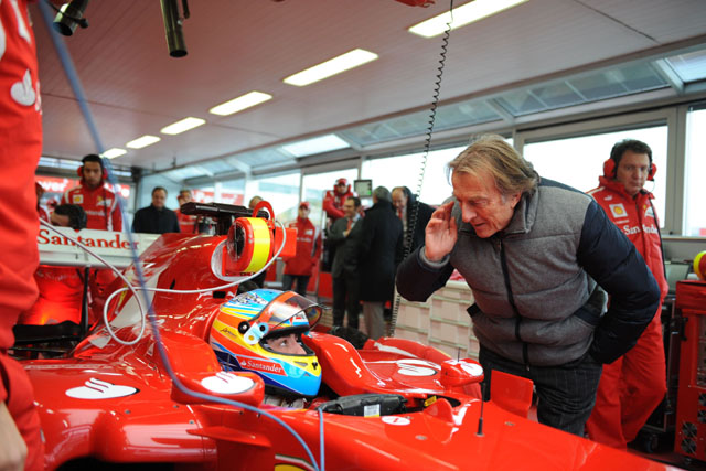 フェラーリ、F150をシェイクダウン。アロンソが走行(4)