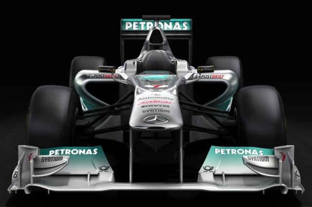 メルセデスGP、新車のデジタルイメージをリリース(1)