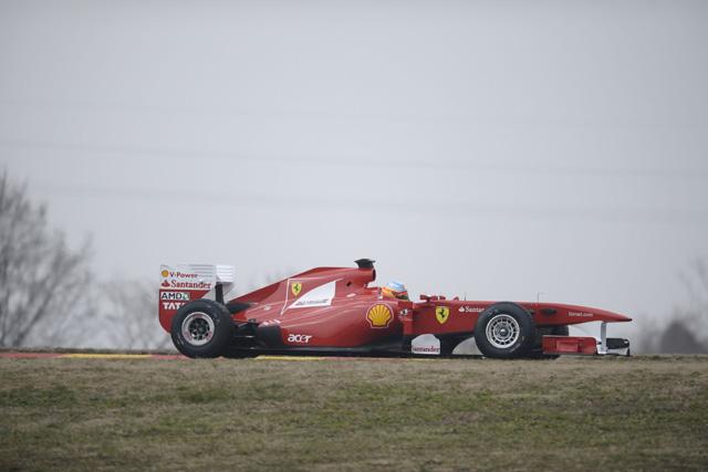 「最初のテストでは力関係は分からない」とフェラーリ(1)