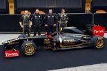 F1 | セナも加入の新生ロータス・ルノーGP、新車R31を披露