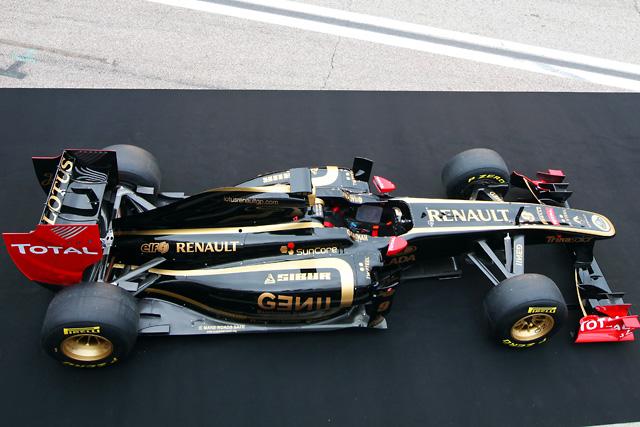 セナも加入の新生ロータス・ルノーGP、新車R31を披露(3)