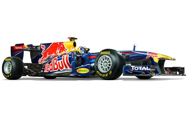 タイトル連覇に挑むレッドブルが新車「RB7」を公開(1)