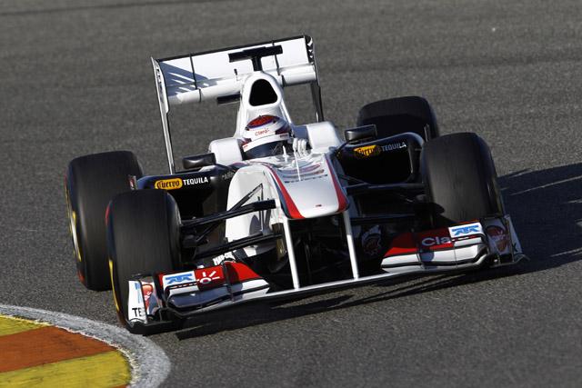 F1合同テストが開始!ベッテルがトップ、可夢偉は6番手(2)