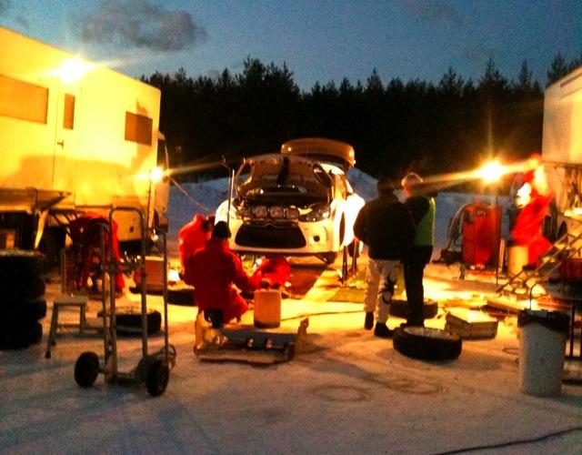 【動画】ペター・ソルベルグ、DS3 WRCをテスト(1)
