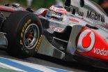 F1   「マクラーレンは序盤戦では後れをとるかも」とバトン