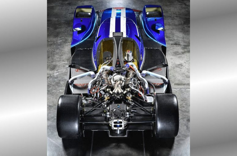 ジネッタの新型LMP1シャシーに搭載されたメカクローム『V634P1』