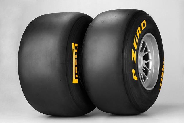 ピレリ、F1タイヤ6種の色分けを発表(1)