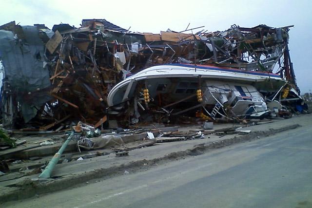 被災した仙台ハイランドの様子(4)