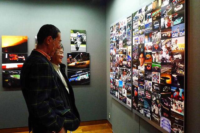 梅田で日本レース写真家協会40周年写真展開催(1)