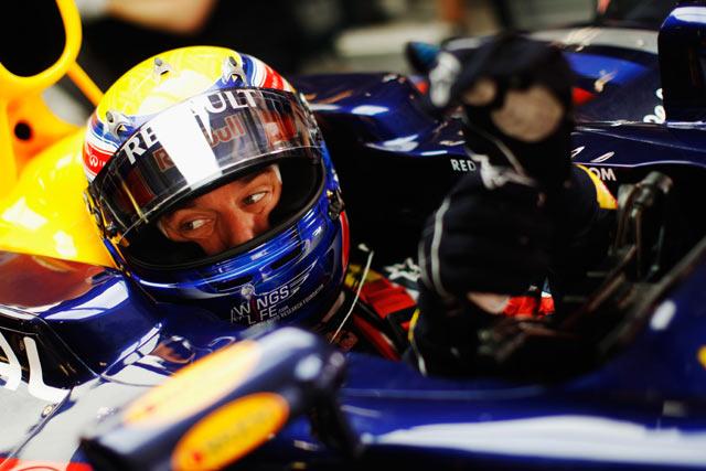 F1第3戦中国GP マーク・ウエーバー(レッドブル)