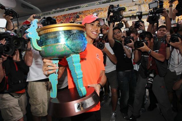 F1中国GP決勝