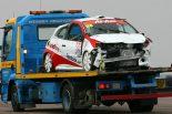 F1 | ハミルトン弟がルノー・クリオで大クラッシュも無事