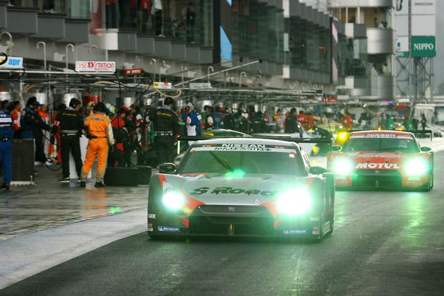 SGT富士:雨のフリー走行はS Roadがトップ。EPSONが2番手(1)