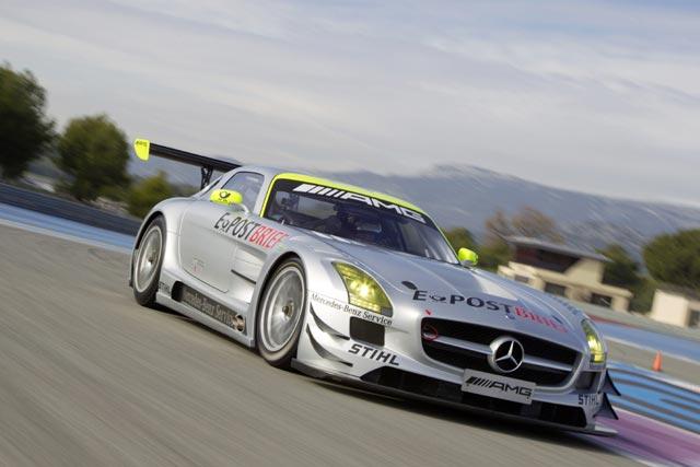 【動画】ラルフがメルセデスSLS AMG GT3をドライブ(1)
