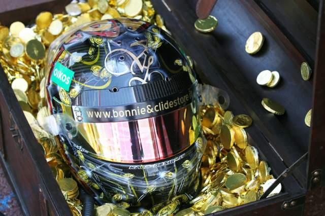 マクラーレンはダイヤモンドヘルメット。リウッツィは海賊(4)