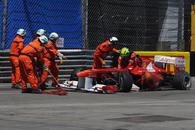 F1第6戦モナコGP決勝 フェリペ・マッサ(フェラーリ)