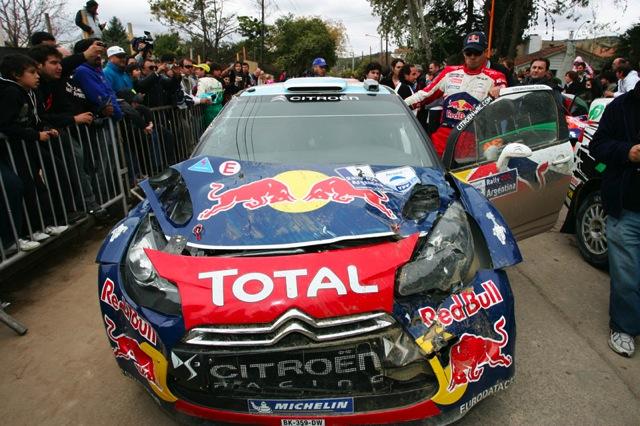 WRC第6戦アルゼンチン:オジエが転倒、ローブ今季3勝目(1)