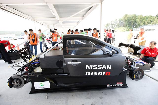 NISSAN LEAF NISMO RC、袖ヶ浦で3回目のテスト(2)