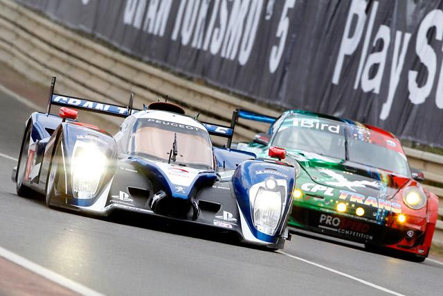 ル・マン24時間初日は8号車プジョーがトップに(7)