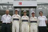 F1   可夢偉のザウバー残留が正式発表。ペレスも継続