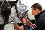 F1   ミハエルとニコ、メルセデスの新工場を訪問