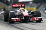 F1   初日最速はルイス。ザウバーはライバルの先行許す