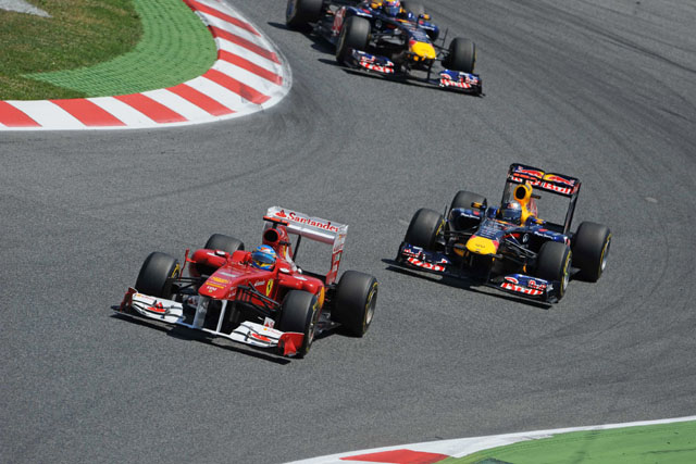 2011年スペインGP フェルナンド・アロンソ&レッドブル