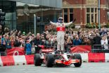 F1 | バトン、マンチェスターで得意のウエット走行披露