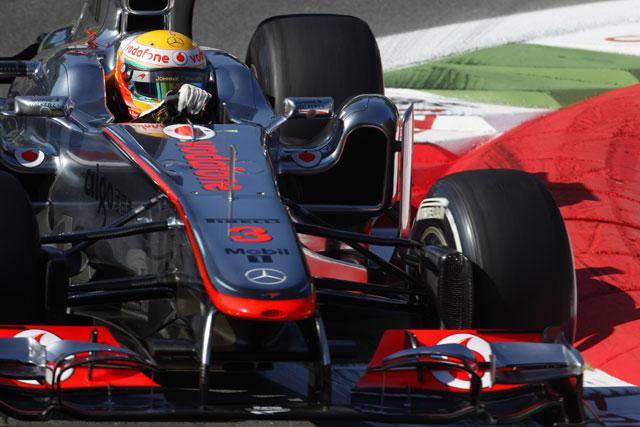 F1イタリアGP開幕。マクラーレン勢が1-2発進(1)